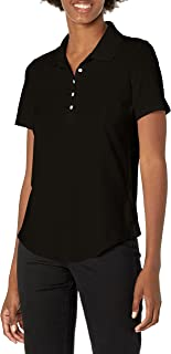 Riders by Lee Indigo Women's Plus Size Morgan Short Sleeve Polo Shirt