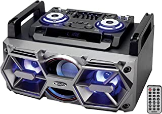 JENSEN SMPS-750 Bluetooth All-in-One Hi-Fi Music System with PA