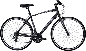 Tommaso Sorrento - Bike of The Month - Shimano Tourney Hybrid Fitness Bike, Matte Black