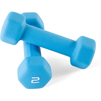 Cap Barbell Neoprene Coated Dumbbell Weights