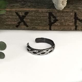 Celtic Ear Cuff - Infinity Knot Earrings - Sterling Silver