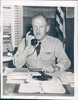 Vintage Photos 1955 Photo Colonel James Bickford Commander Otis Air Force Base Cape Cod 6x8
