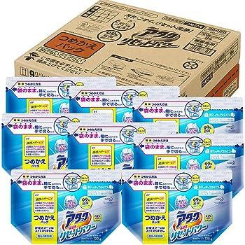 【ケース販売】アタック 洗濯洗剤 粉末 高浸透リセットパワー 詰め替え 720g×8個