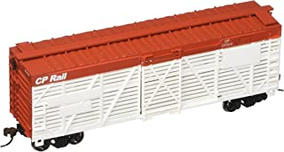 Bachmann Trains C.P. Rail 40' Stock Car-Ho Scale