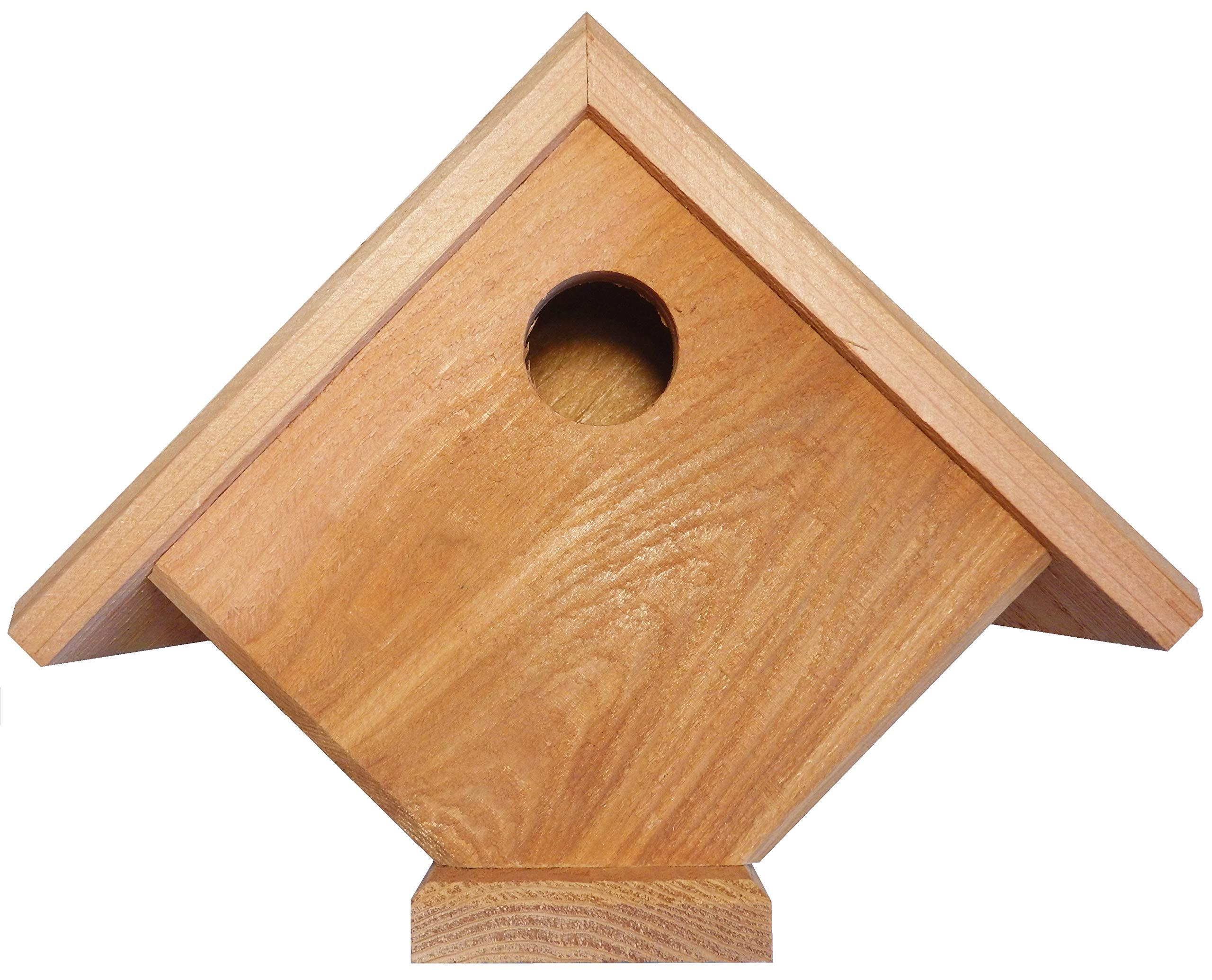 Nesting Breeding Brooding Bird House Boxes Outdoor Indoor Finch Sparrow Woodpeck