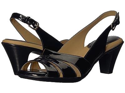 Comfortiva Neima Soft Spots (Black Patent) Women