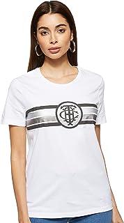 Tommy Hilfiger Women's Pam C-Neck Short Sleeve T-Shirt, White