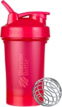 BlenderBottle Classic V2 Shaker Bottle Perfect for Protein Shakes and Pre Workout, 20-Ounce, Pink