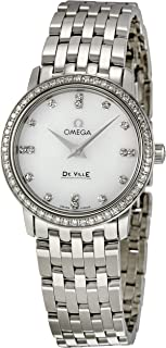 Women's 413.15.27.60.55.001 DeVille Mother Of Pearl Dial Watch