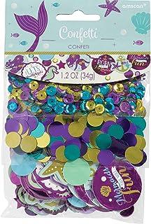 Amscan 360275 Mermaid Wishes Confetti 34g-1 Pc