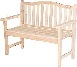 Best wooden loveseat bench Reviews