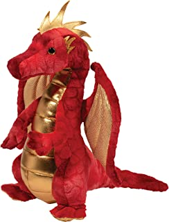 Douglas Plush Eugene Red Dragon Stuffed Animal