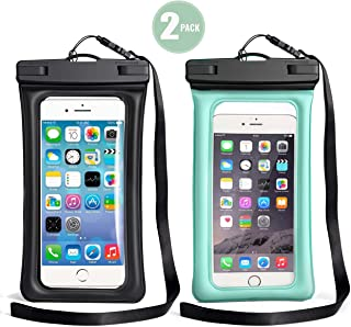 TeaTronics Floating Waterproof Case,Waterproof Phone Case IPX8 Waterproof Phone Pouch Available TPU Clear Dry Bag