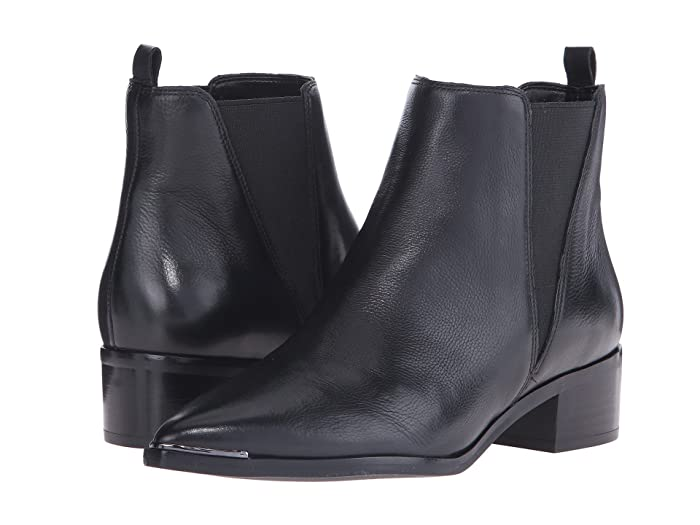 Marc Fisher LTD  Yale (Black Leather) Womens Dress Pull-on Boots
