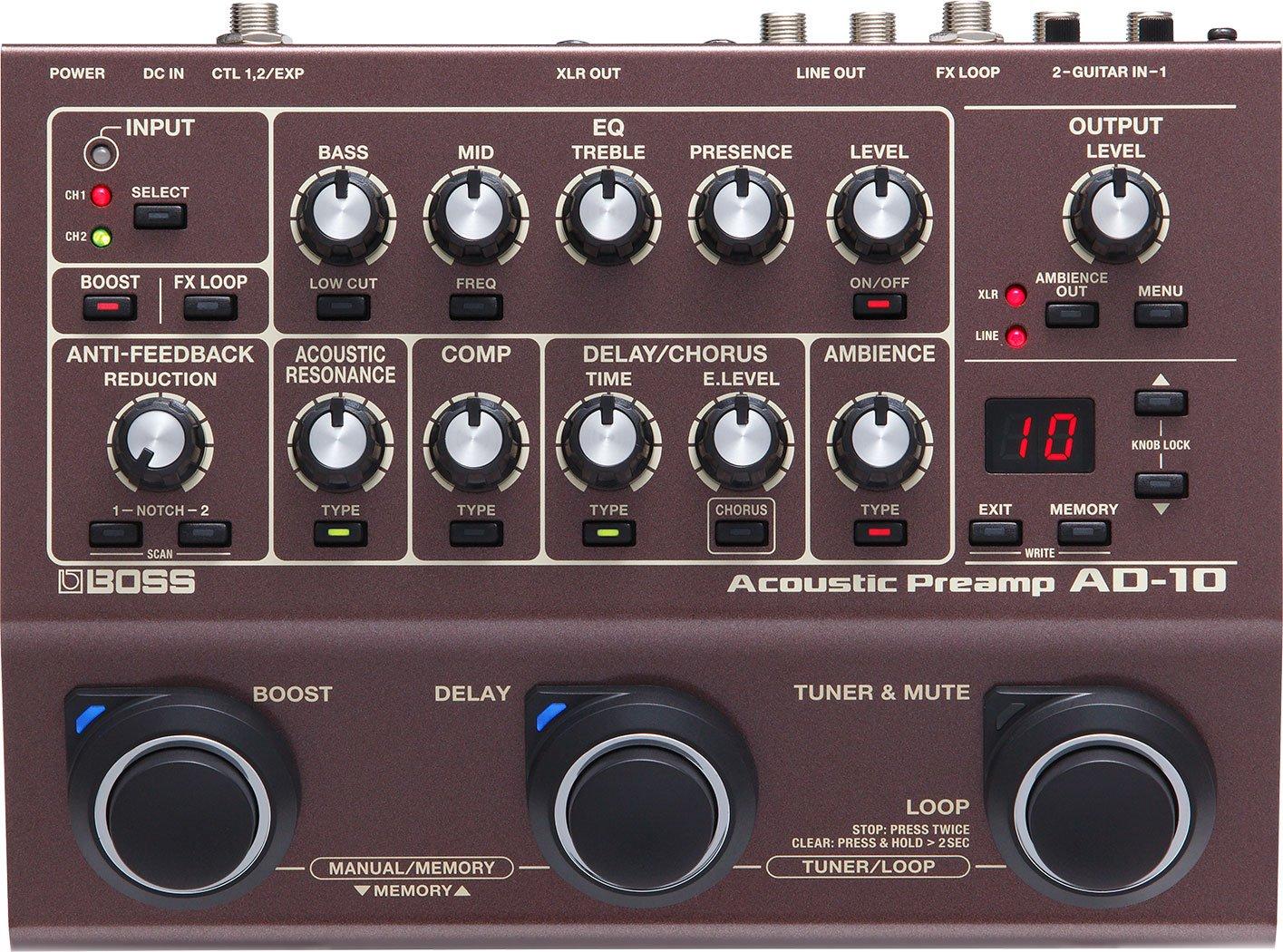 リンク:AD-10 Acoustic Preamp