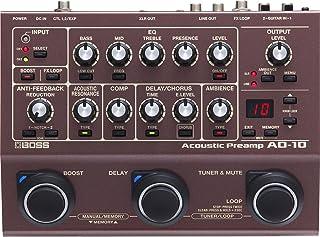 BOSS AD-10 - Preamplificador acústico y pedal de guitarra multiefectos
