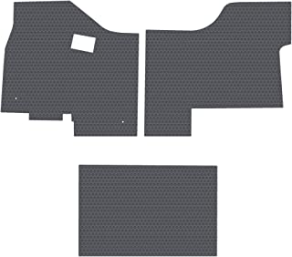 Passenger /& Rear Floor GGBAILEY D50508-S1A-BLK/_BR Custom Fit Car Mats for 2006 2007 2008 Saab 9-5 Wagon Black with Red Edging Driver