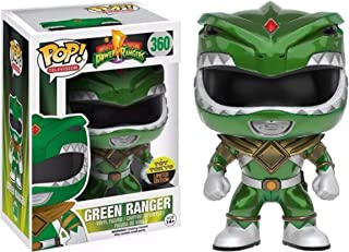Funko 2016 NYCC Exclusive Pop! Television Power Rangers Metallic Green Ranger #360 Toy Tokyo Limited Edition