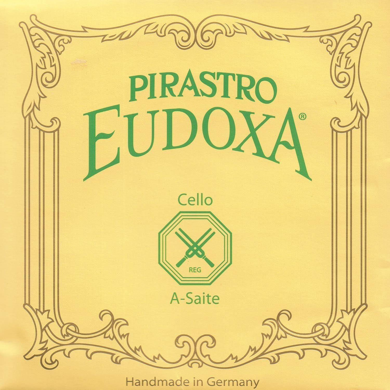 Pirastro Eudoxa shopping 4 Cello Sale A String Aluminum 21.5 Heavy - Gut