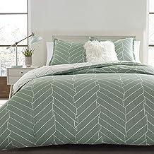 City Scene 216332 Ceres Cotton Comforter Set, King, Mint