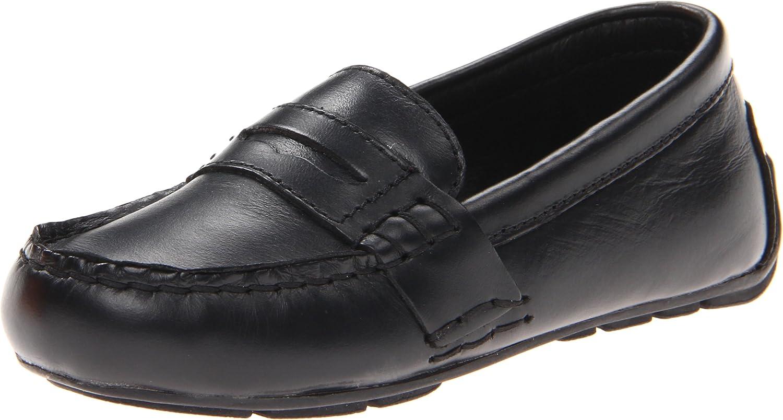 Polo Ralph Lauren Kids Telly FULL GRA Loafer Black,5 M US Big Kid