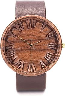 Reloj de Madera para Hombre, Ovi Watch, Reloj Ligero y Elegante, Caja de Madera de Natural, Reloj Ligero y Elegante, Mader...