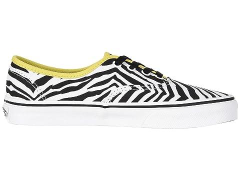 Zebra Vans Green True Authentic White Sheen RRga5wSqxr