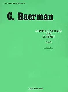 O32 - Complete Method for Clarinet Op. 63 - C. Baerman
