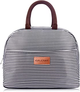 BALORAY Lunch Bag Cooler Bag Large Durable Insulated Water-resistant Lunch Bags for Women and Men Fashionable Lunch Box for women/Picnic/Boating/Beach/Fishing/Work