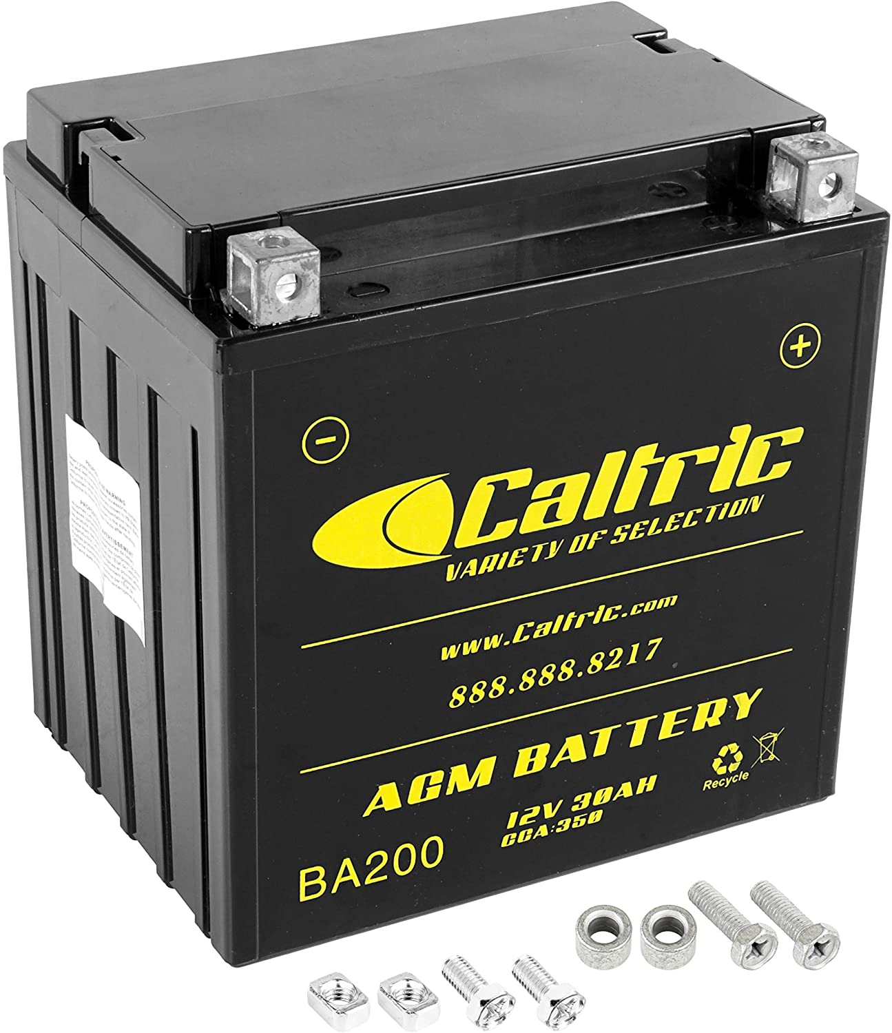 Milwaukee Mall Las Vegas Mall Caltric compatible with Agm Battery 800 Crew Polaris Ranger 2011