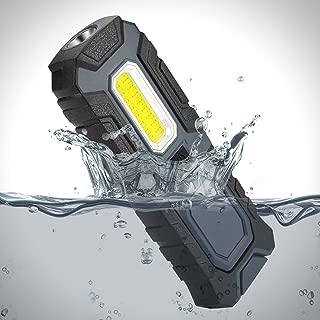 Portable Work Light LED Flashlight 5W COB 400lumen 2 in 1 function Worklamp for Workshop Car Repairing Emergency Blackout Cycling