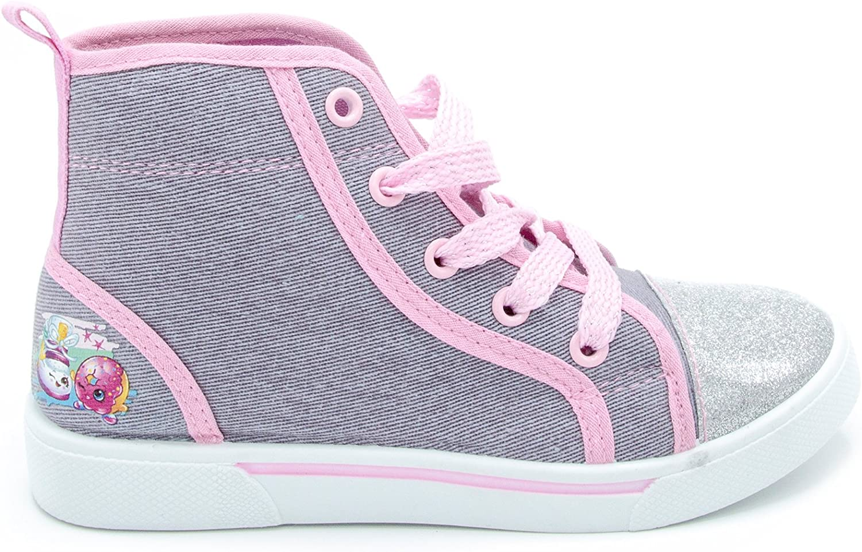 Shopkins Girls High-Top 5% OFF Canvas Sneakers Ranking TOP18 Denim