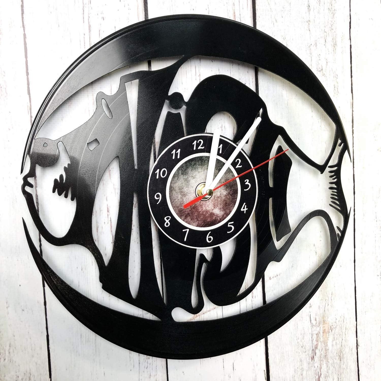 Wall Clock Compatible with Handmade Made of Vinyl Record, Phish Unique Design Great idea for Birthday Wedding, Anniversary Women Men Friends Girlfriend Boyfriend Teens Music Singer Phish