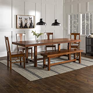 cherry oak dining set