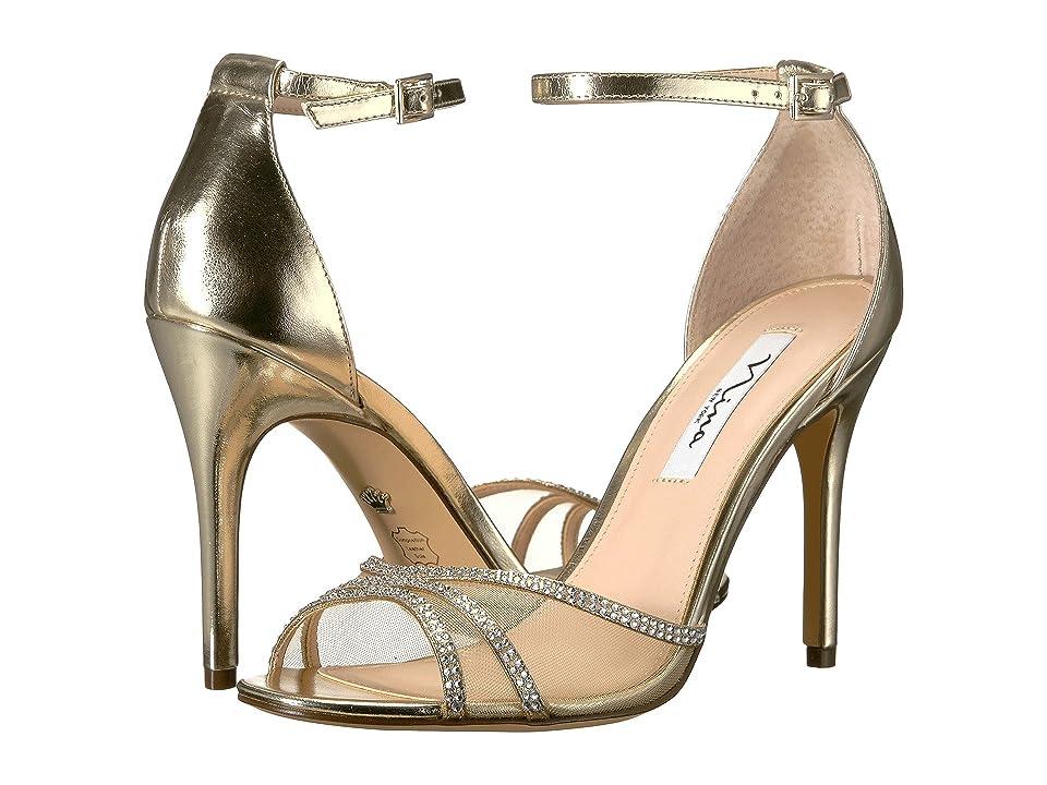 Nina Calissa (Platino Titan) High Heels
