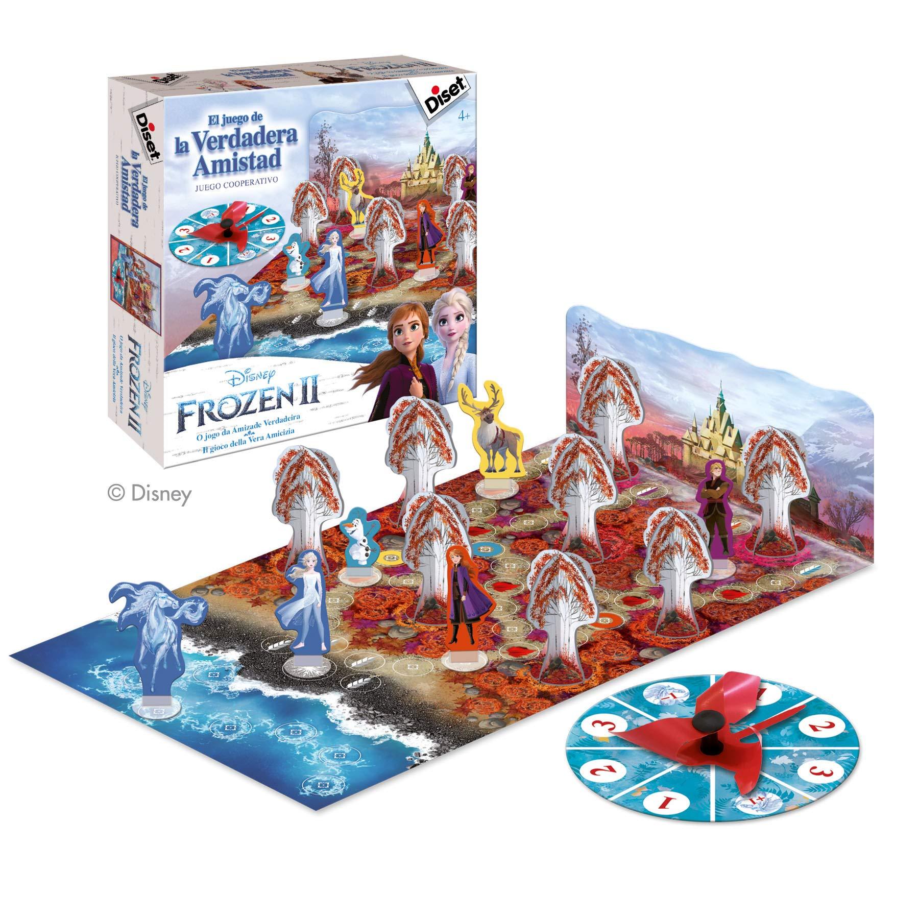 Diset - Frozen 2 El juego de la verdadera amistad: Amazon.es: Juguetes y juegos