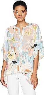 CATHERINE CATHERINE MALANDRINO Women's Komai Blouse-Floral