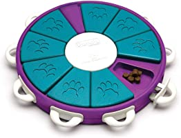 Outward Hound 67335 Nina Ottosson Dog Twister Dog Puzzle Toy Dog Game Purple Level 3 (Advanced)