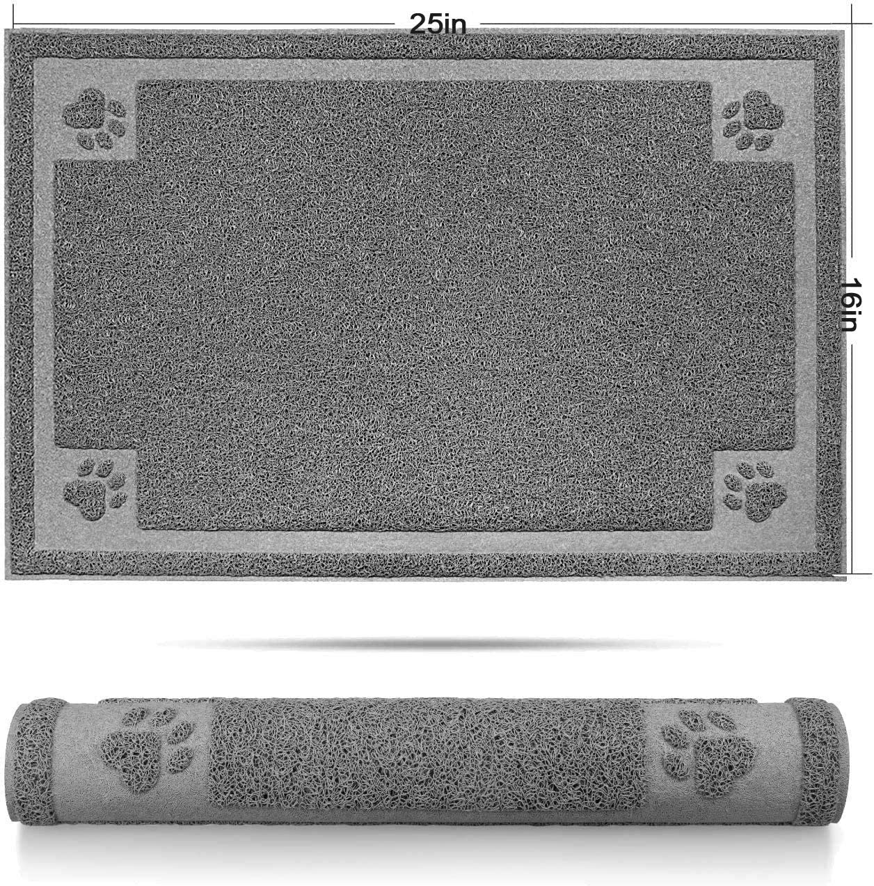 SHUNAI supreme Pet Feeding Mat for Dogs and Cats Large Colorado Springs Mall Extra Flexible an