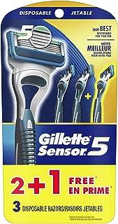 Best gillette sensor 5 disposable razors Reviews