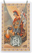 St. Florian (patron saint of firefighters) Firefighters Necklace with a FREE Laminated Prayer Card