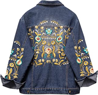 Best denim jackets embroidered Reviews
