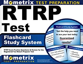 RTRP Test Flashcard Study System: RTRP Exam Practice Questions & Review for the Registered Tax Return Preparer Test (Cards)