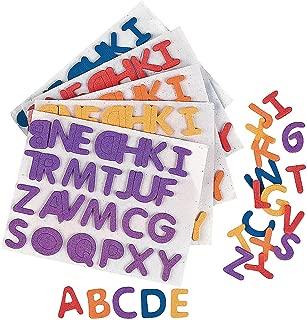 Fun Express - Adhesive Foam Letters - 1/2