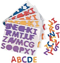 Fun Express - Adhesive Foam Letters - 1/2