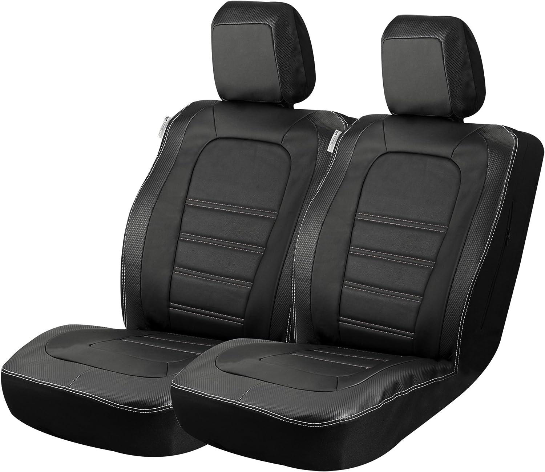 Amazon.com: Alpena Masque 67017 Carbon Fiber Accent Truck Front Seat Covers, 1 Pack : Automotive