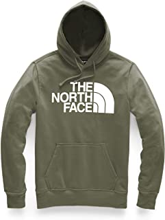 The North Face Men's Half Dome Pullover Hoodie, Burnt Olive Green/TNF White, XX-Large