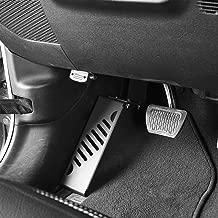 Hooke Road Dead Pedal Left Side Foot Rest Kick Panel for 2018-2019 Jeep Wrangler JL Sahara Rubicon Sport Sports