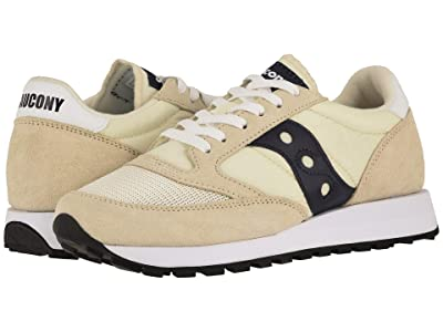 Saucony Originals Jazz Original Vintage (Tan/Navy) Men