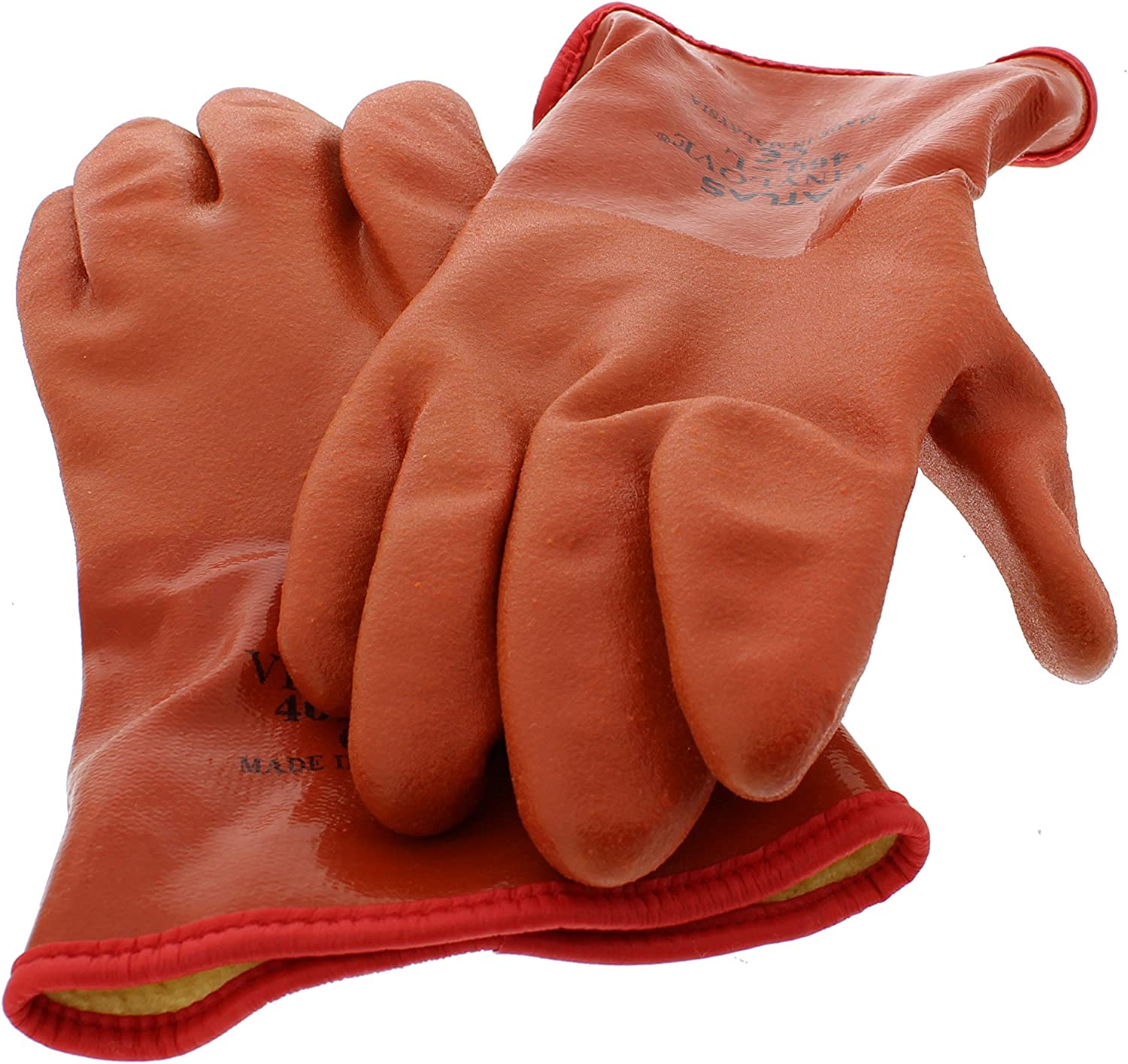 Showa Atlas 460 Max 67% OFF Selling Vinylove Cold Insulated - Large Resistant Gloves